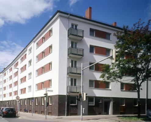 Startseite Leistungen Fassadensanierung Wohnhäuser temps
