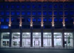 VWI Konzernforum Fassade temps
