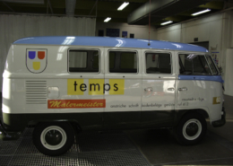 Lackierung Oldtimer Seite temps