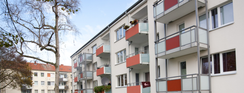 Magdeburgstraße Balkone temps
