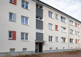 Magdeburgstraße Fassade temps