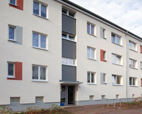 Wohngebäude Hannover, Magdeburger Straße, Fassadenansicht