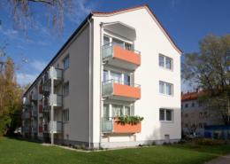 Magdeburgstraße Seitenansicht Haus temps