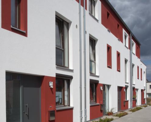 Neubau Reihenhäuser Hannover, Treppenkamp