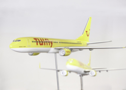 TUIfly Flugzeugmodelle zwei Flieger temps