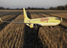 TUIfly Flugzeugmodelle Flugzeug im Korn temps
