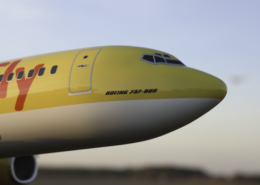 TUIfly Flugzeugmodelle Boeing temps