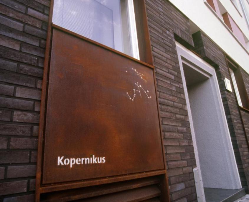 WG Gartenheim Kopernikusstraße Detail temps