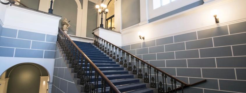 Referenztabelle_Handelskammer Hamburg, Treppenhaus